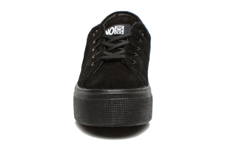 Sneaker No Box Alma schwarz schuhe getragen