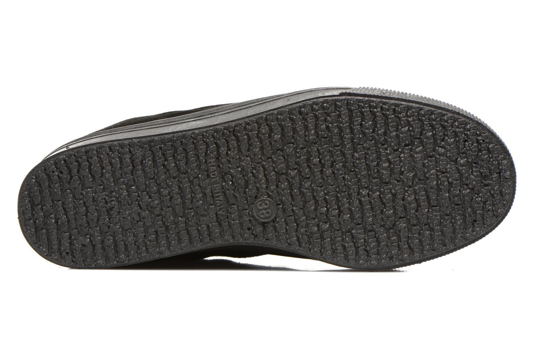 Sneaker No Box Alma schwarz ansicht von oben