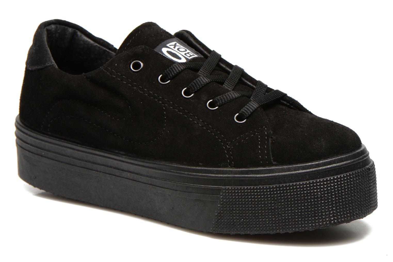 Sneaker No Box Alma schwarz detaillierte ansicht/modell