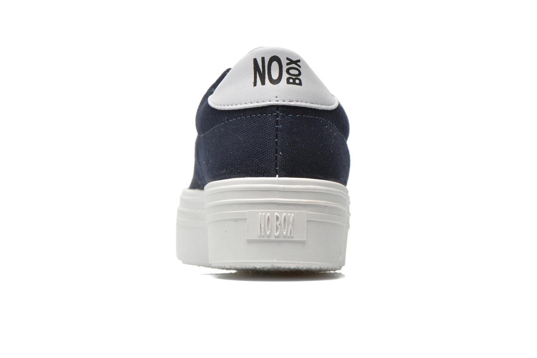 Sneakers No Box Alma Blå Se fra højre