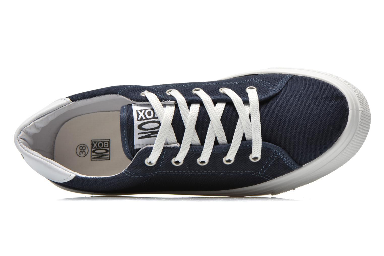 Sneakers No Box Alma Blå se fra venstre