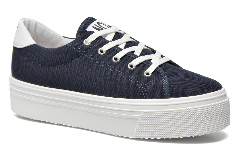 Sneakers No Box Alma Blauw detail