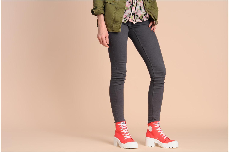 Sneaker No Box Galia mehrfarbig ansicht von unten / tasche getragen