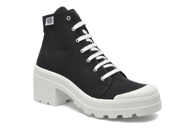Sneakers No Box Galia Zwart detail