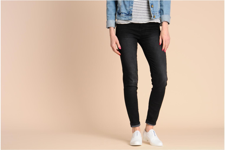 Chaussures à lacets Swear Jimmy 1 W Bleu vue bas / vue portée sac