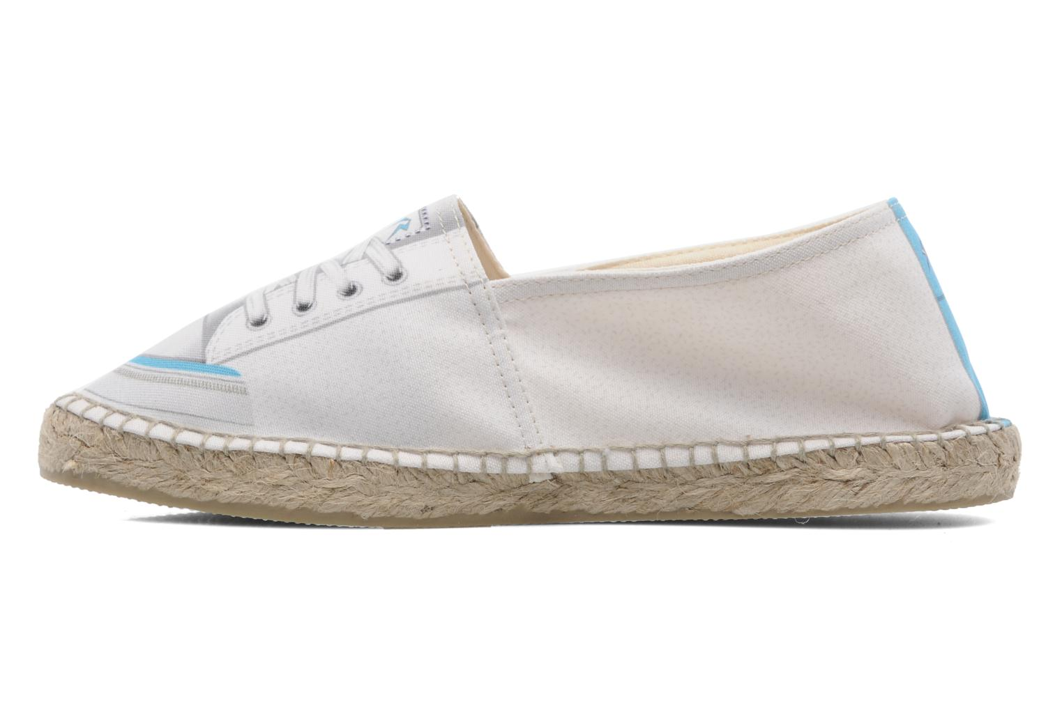 Espadrilles String Republic Paris W Blanc vue face