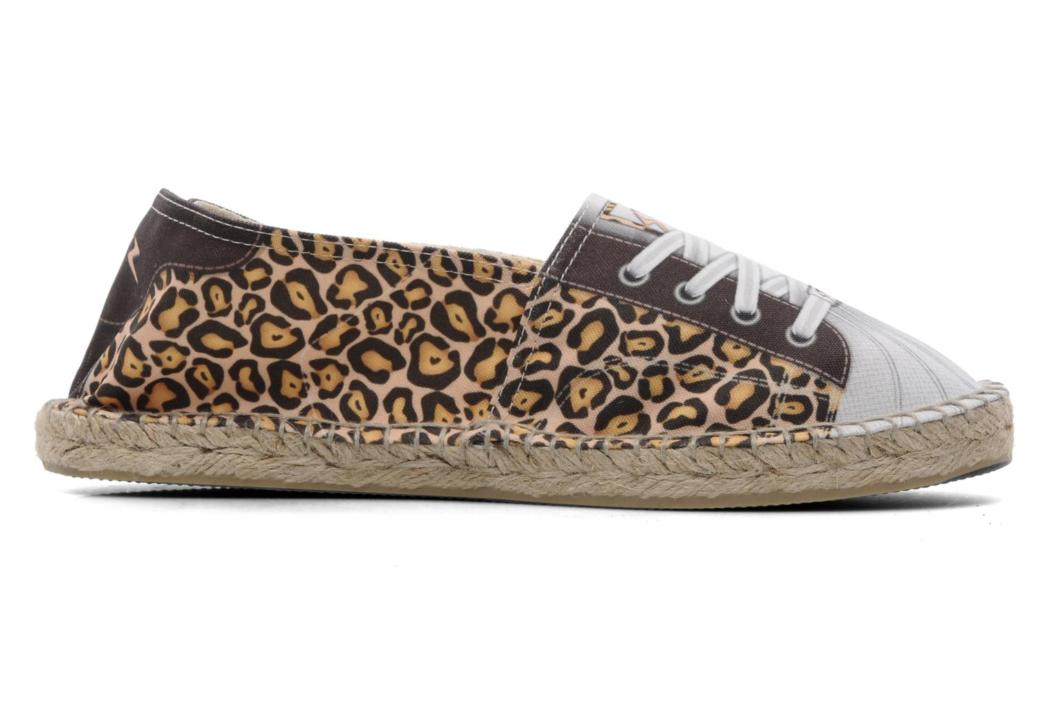 Espadrilles String Republic Holywood Multicolor achterkant