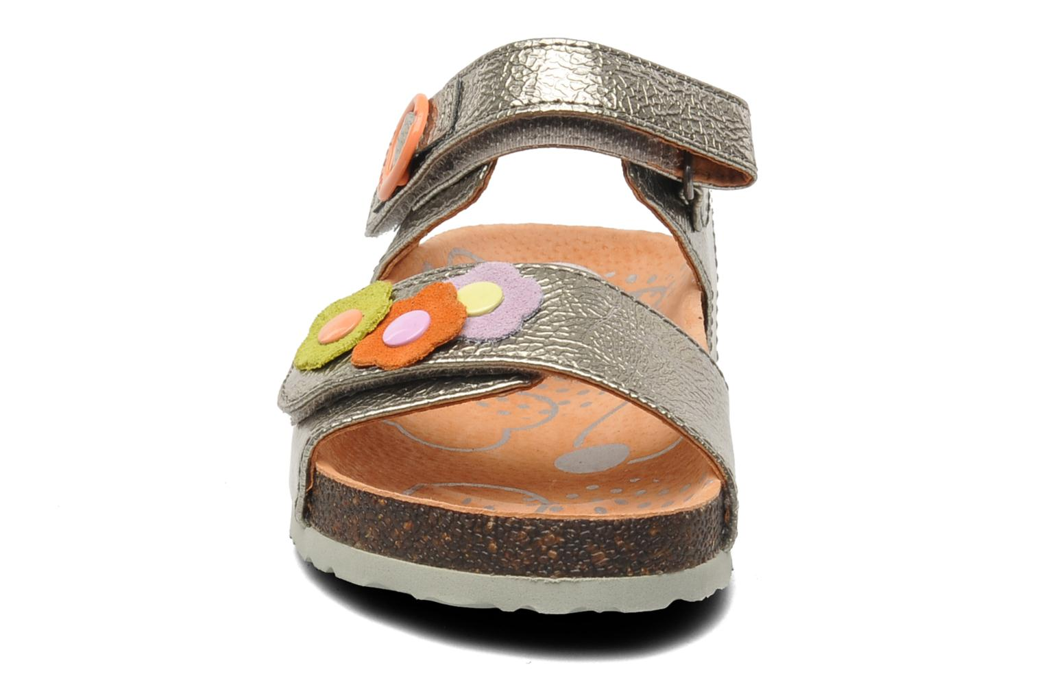Sandalen Kickers Magiflower Zilver model