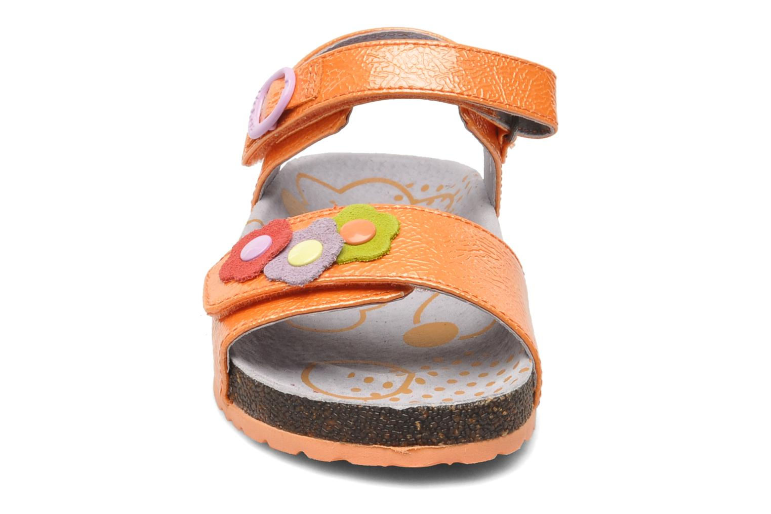 Sandalen Kickers Magiflower Oranje model