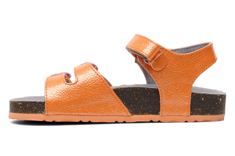 Sandalen Kickers Magipop Oranje voorkant