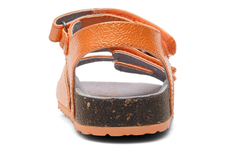 Sandali e scarpe aperte Kickers Magipop Arancione immagine destra