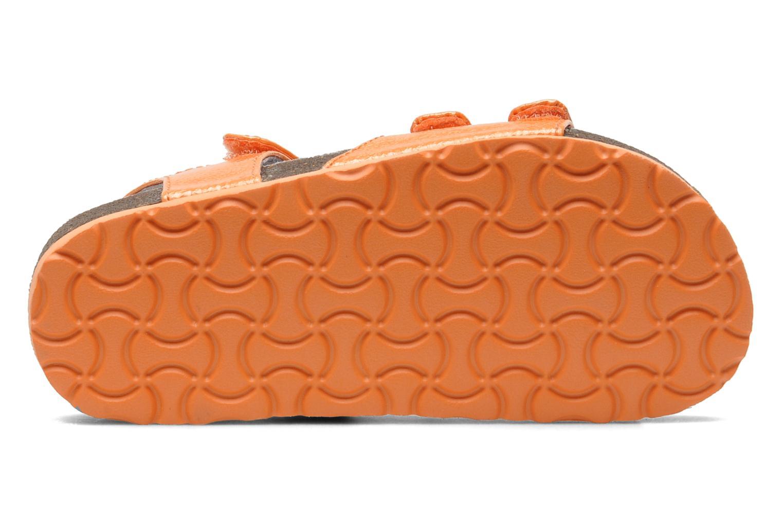 Sandales et nu-pieds Kickers Magipop Orange vue haut