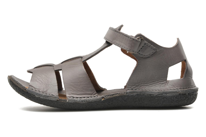 Sandalen Kickers Pipo Grijs voorkant