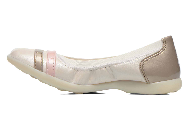 Ballerina's Kickers Amberi Wit voorkant