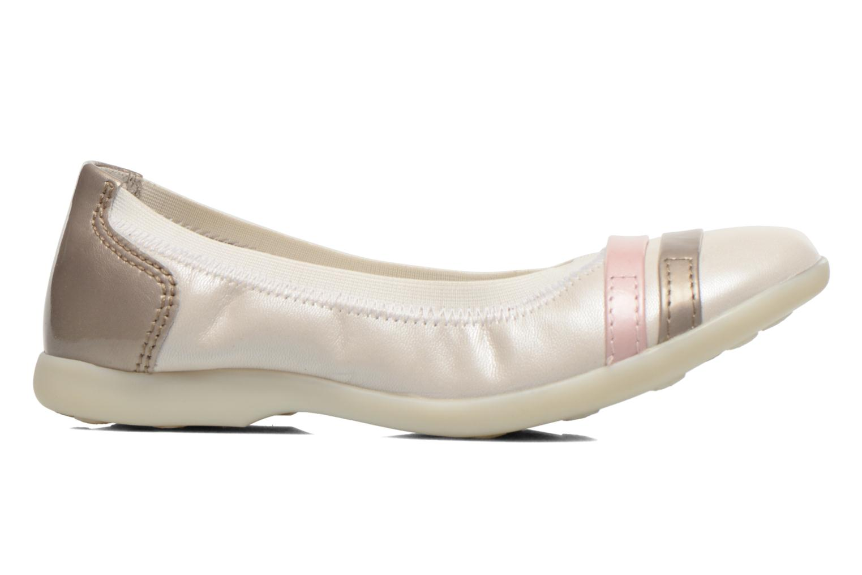 Ballerina's Kickers Amberi Wit achterkant