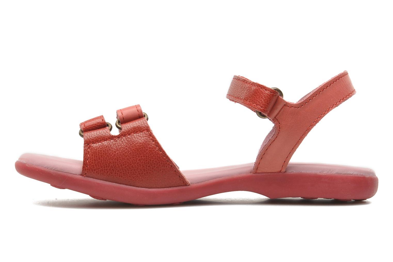 Sandales et nu-pieds Kickers Arcenciel Rose vue face