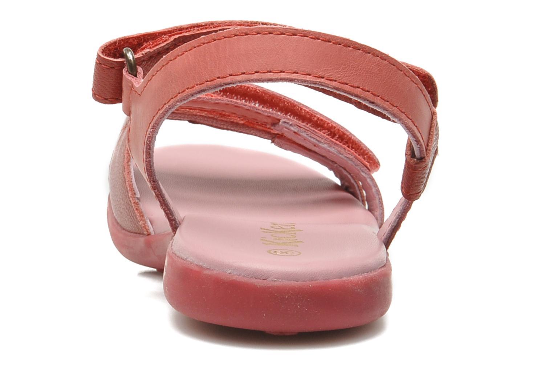 Sandalen Kickers Arcenciel Roze rechts