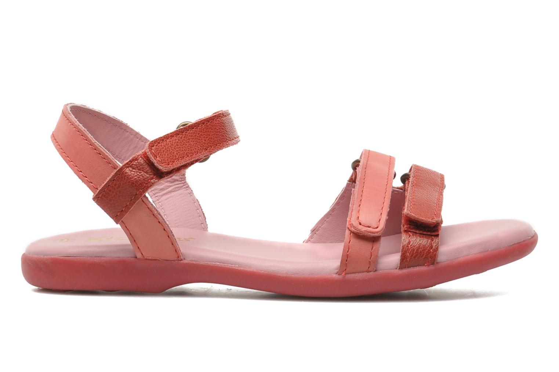 Sandales et nu-pieds Kickers Arcenciel Rose vue derrière