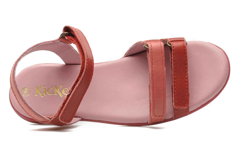 Sandales et nu-pieds Kickers Arcenciel Rose vue gauche