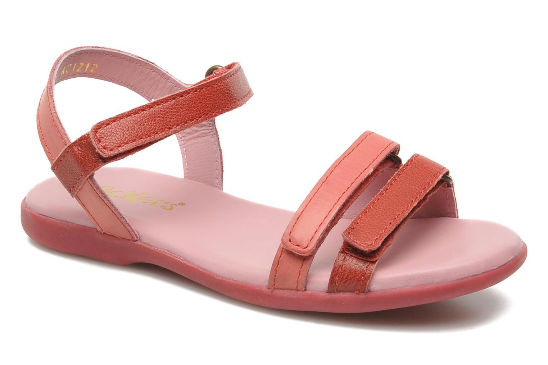 Sandales et nu-pieds Kickers Arcenciel Rose vue détail/paire
