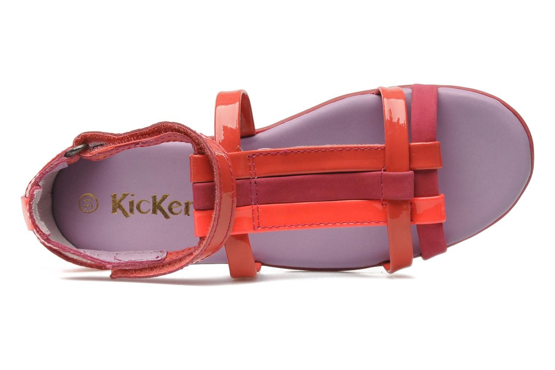 Sandalen Kickers Ariane Roze links