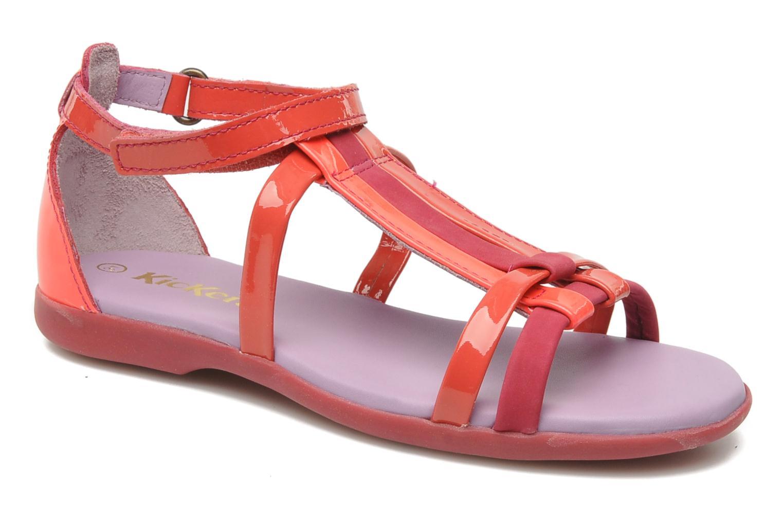 Sandalen Kickers Ariane Roze detail