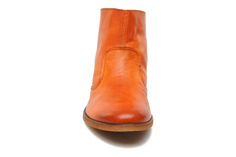 Stiefeletten & Boots Kickers Roxannabis E orange schuhe getragen