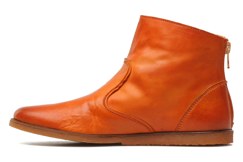 Boots en enkellaarsjes Kickers Roxannabis E Oranje voorkant