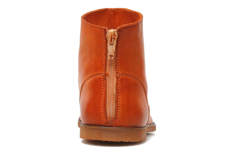 Stiefeletten & Boots Kickers Roxannabis E orange ansicht von rechts