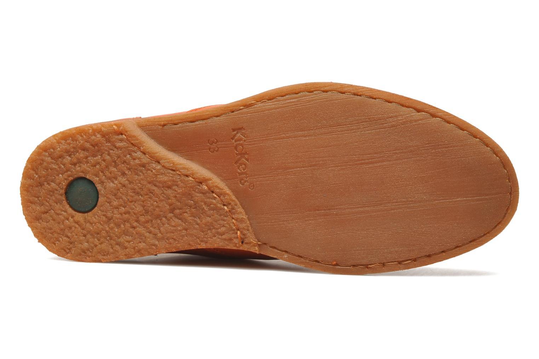 Stiefeletten & Boots Kickers Roxannabis E orange ansicht von oben