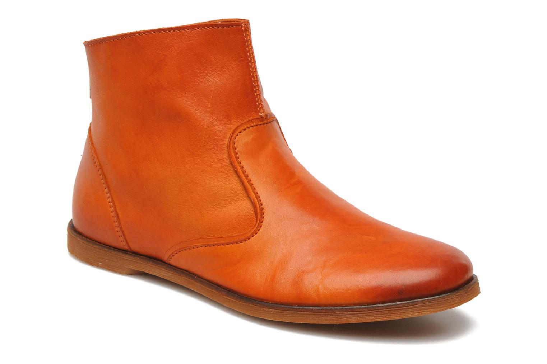 Boots en enkellaarsjes Kickers Roxannabis E Oranje detail