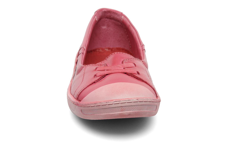 Ballerines Kickers Karenine Rose vue portées chaussures