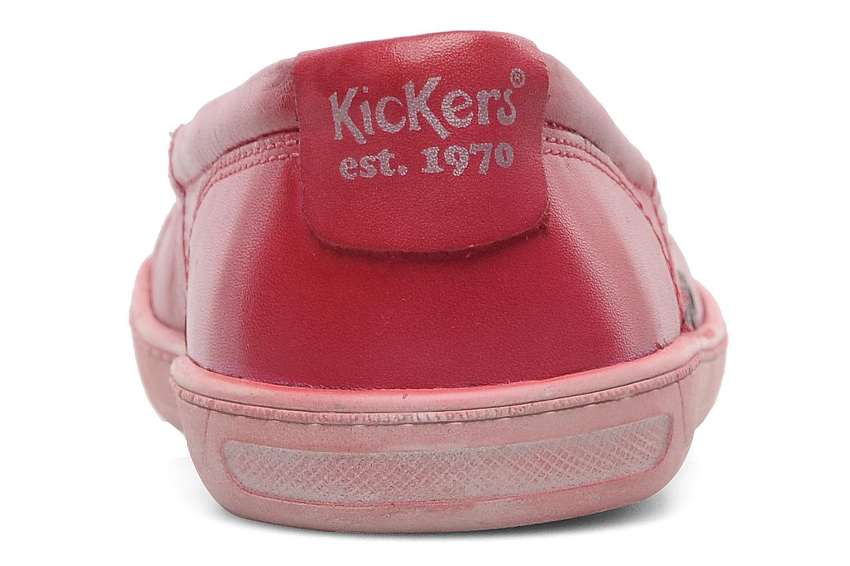 Ballerina's Kickers Karenine Roze rechts