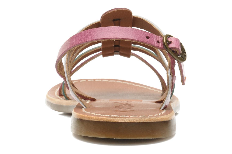 Sandalen Kickers Dixmillion mehrfarbig ansicht von rechts