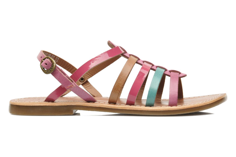 Sandalen Kickers Dixmillion mehrfarbig ansicht von hinten