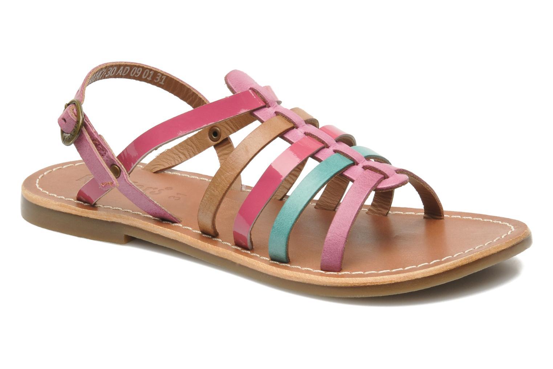 Sandales et nu-pieds Kickers Dixmillion Multicolore vue détail/paire