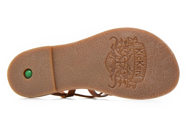 Sandaler Kickers Dixmillion Brun se foroven