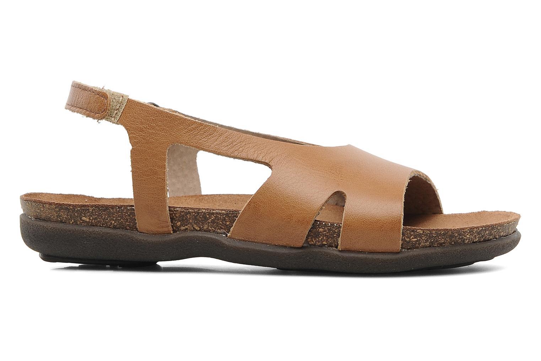 Sandalen Kickers Anatokid braun ansicht von hinten