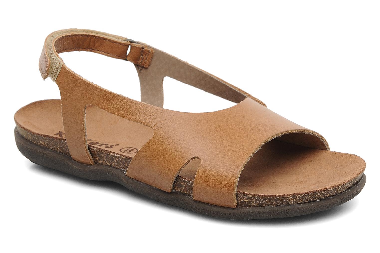 Sandales et nu-pieds Kickers Anatokid Marron vue détail/paire