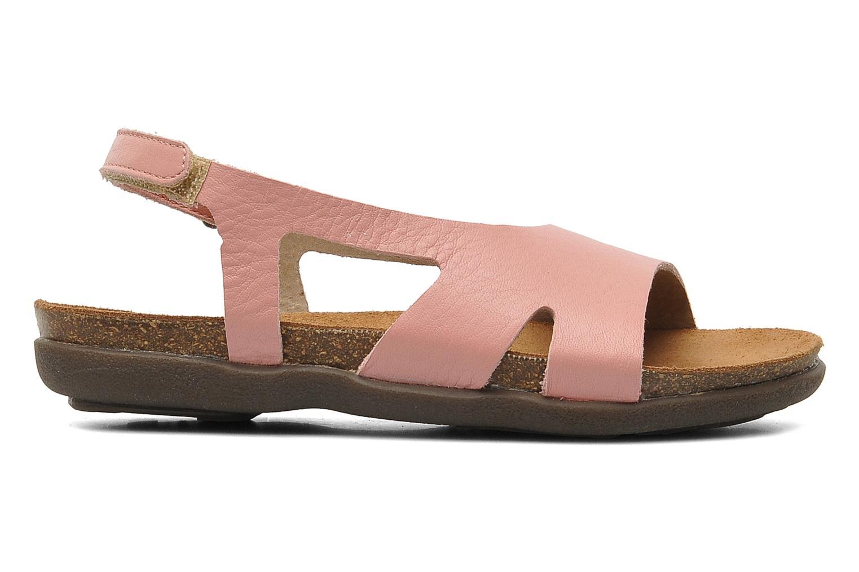 Sandales et nu-pieds Kickers Anatokid Rose vue derrière