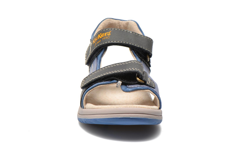 Sandalen Kickers Platino Blauw model