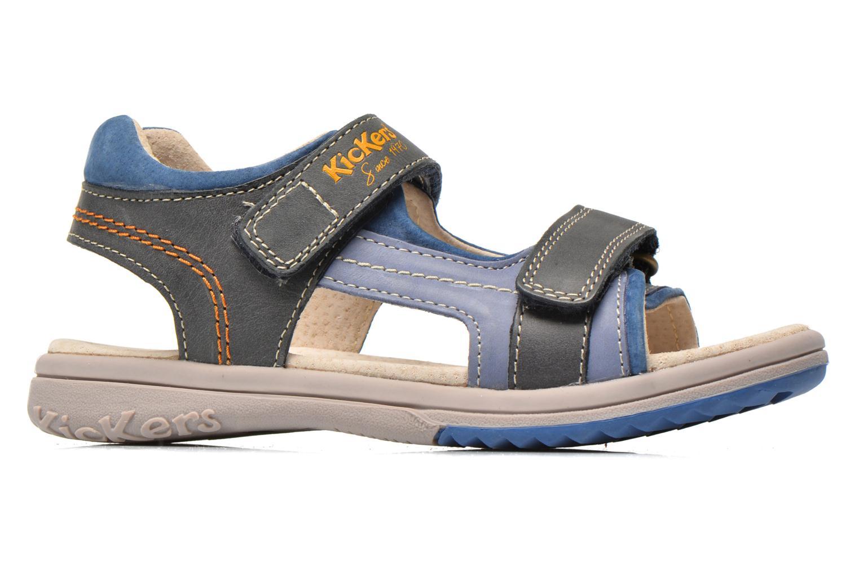 Sandalen Kickers Platino Blauw achterkant