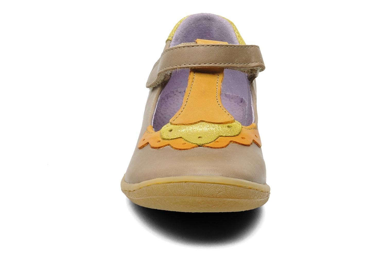 Ballerinas Kickers Cakemi beige schuhe getragen