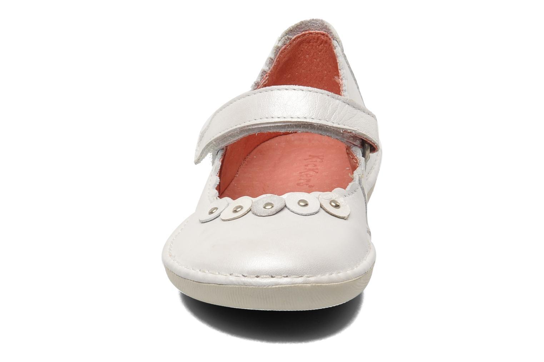 Ballerinas Kickers Explo weiß schuhe getragen
