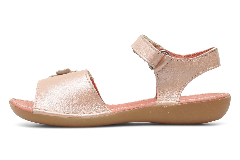 Sandalen Kickers Exmiel Roze voorkant
