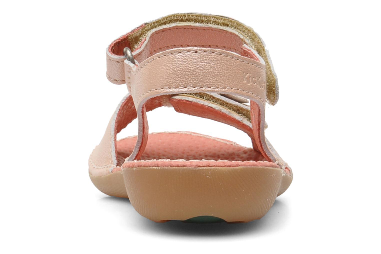 Sandalen Kickers Exmiel Roze rechts