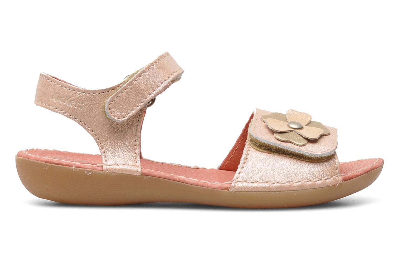Sandalen Kickers Exmiel Roze achterkant