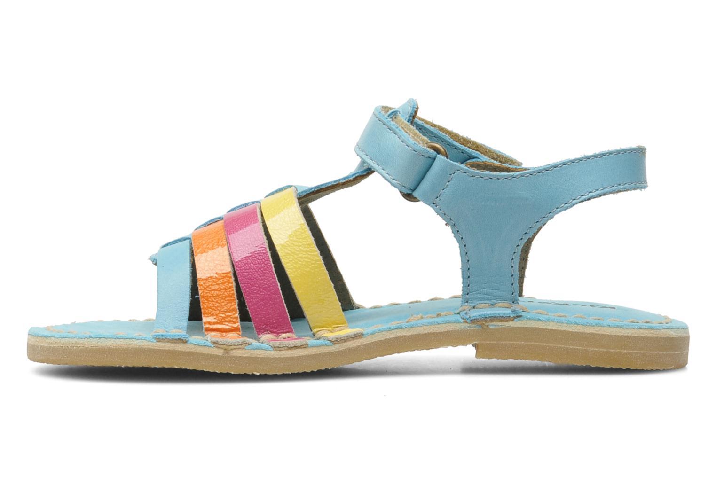 Sandalen Kickers Celeste Blauw voorkant