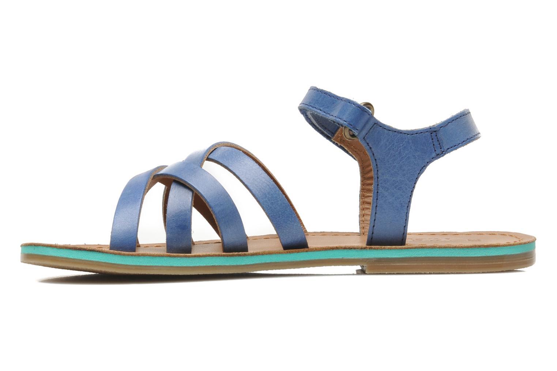 Sandalen Kickers Parallelo Blauw voorkant