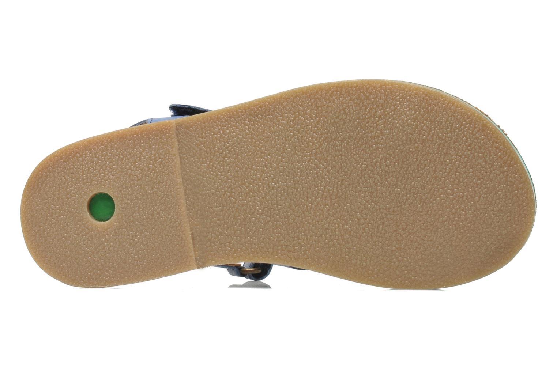 Sandalen Kickers Parallelo Blauw boven